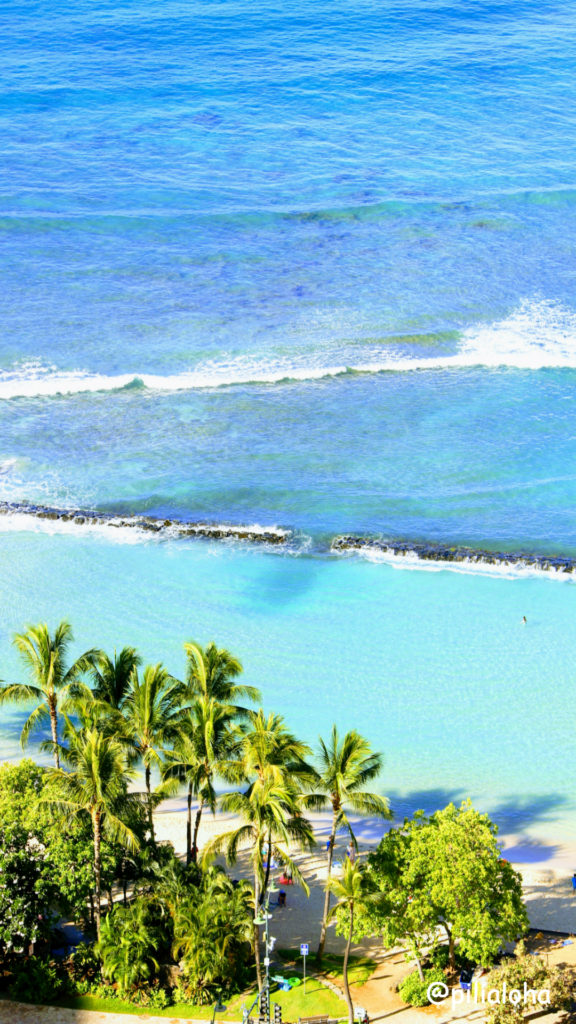 free iphone wallpaper waikiki beach