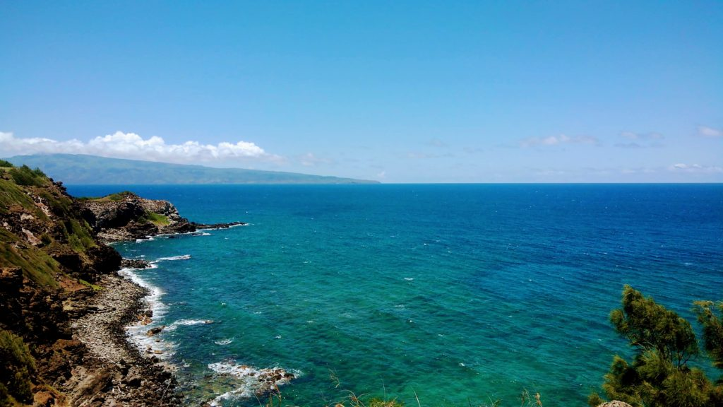 free photo Maui beach in Hawaii フリーフォトマウイの海